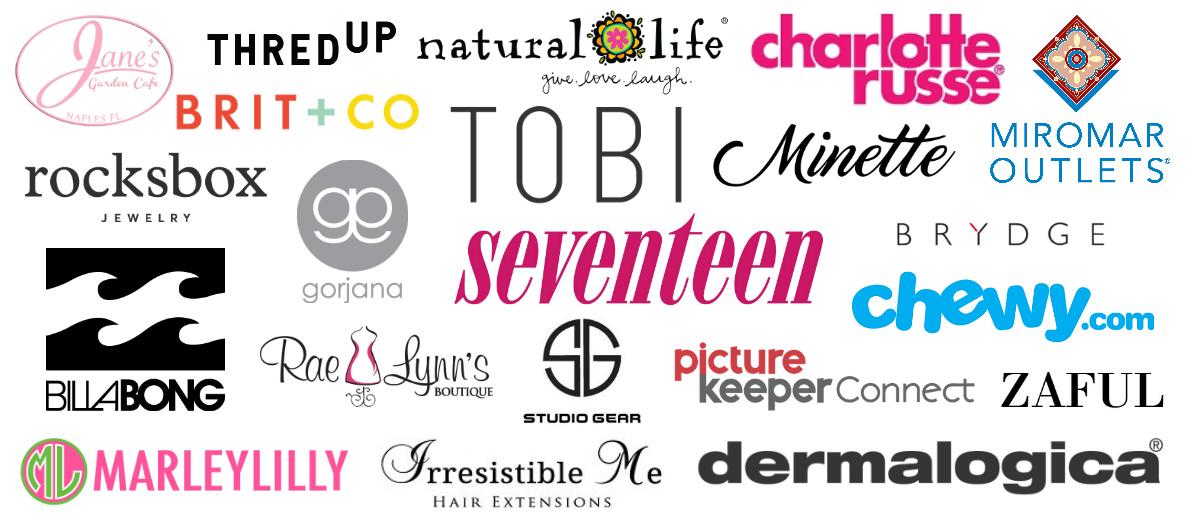 Sweet Teal Brand Partnerships