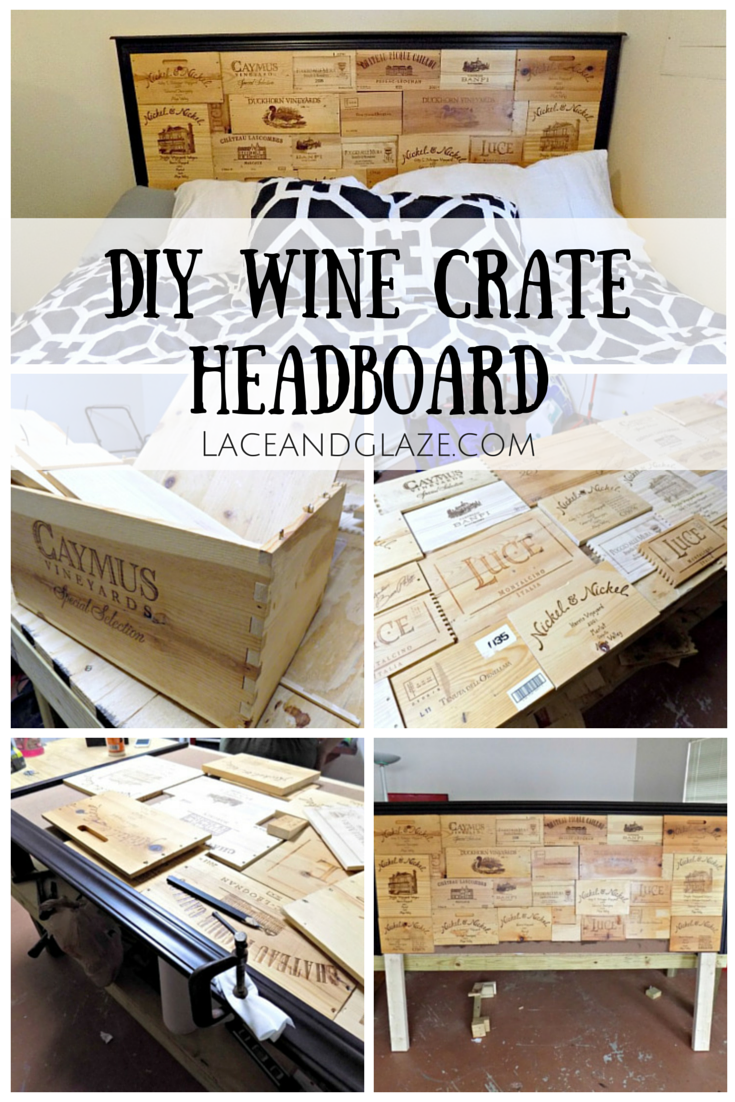 Diy wine crate headboard What to do with wine crates