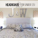 DIY Headboard for under $15