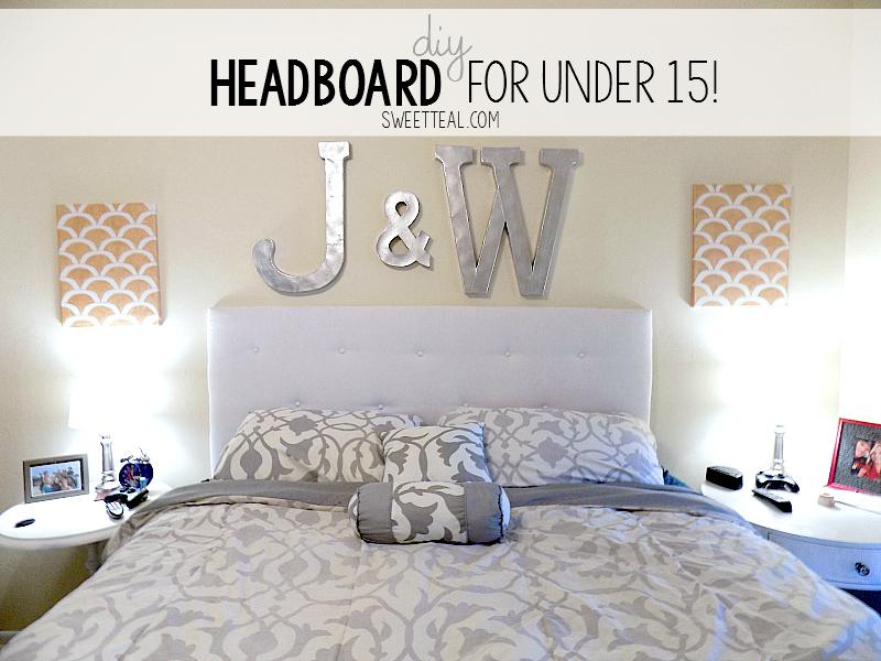 Diy Headboard For Under 15