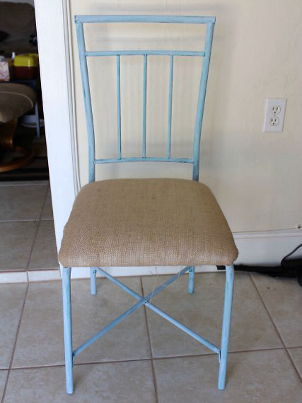 DIY Beach Chic Chair