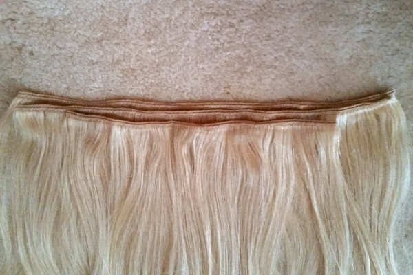 diy halo hair extensions 2