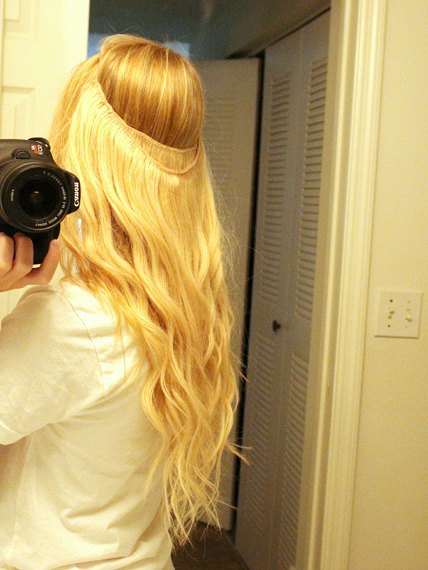 Diy Halo Hair Extensions