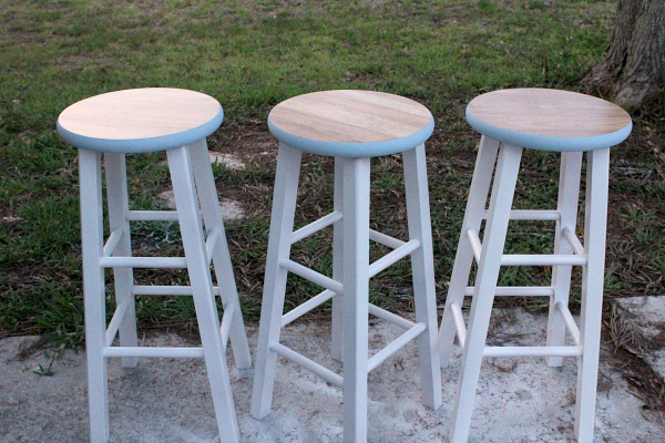 diy painted bar stools 6