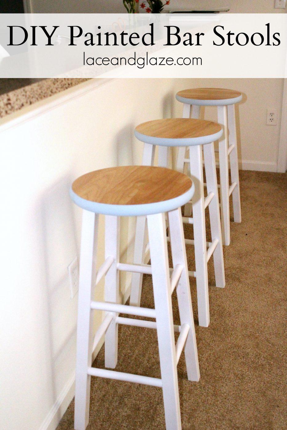 Sweet Teal DIY Painted Bar Stools Sweet Teal : diy painted stools 71 from sweetteal.com size 2212 x 3318 jpeg 4153kB