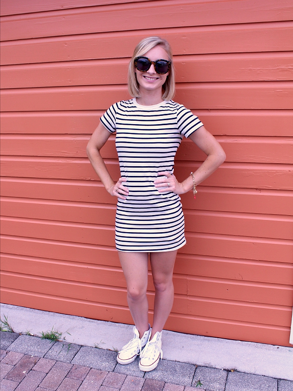 stripes and converse outfit 2