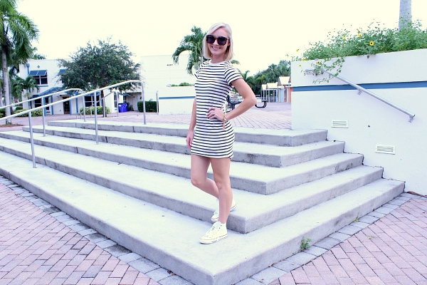 stripes and converse outfit 5