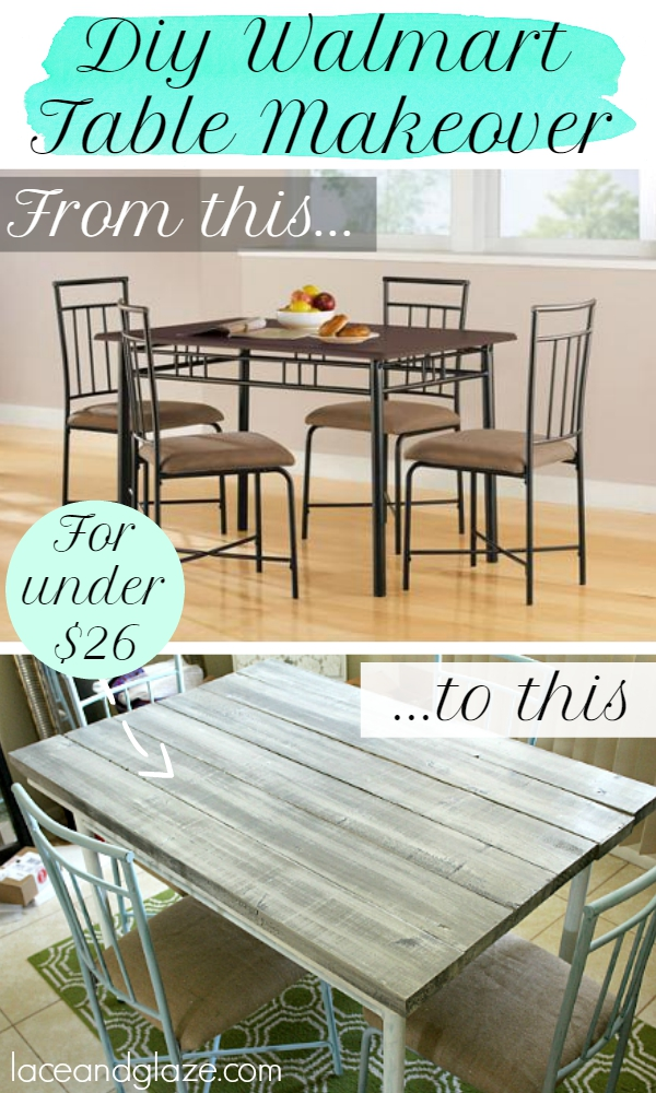 DIY Walmart Table Makeover
