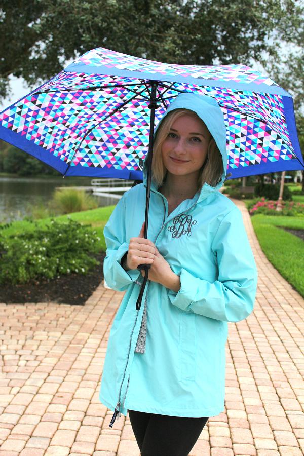 Marley Lilly light blue rain jacket