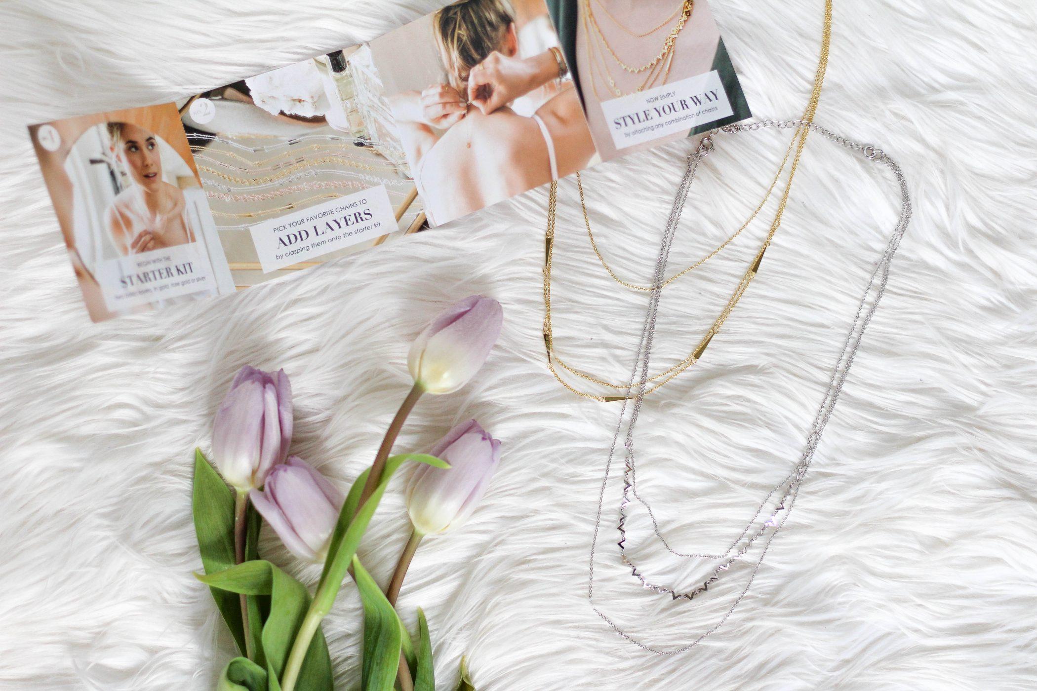 DIY Gorjana Necklaces