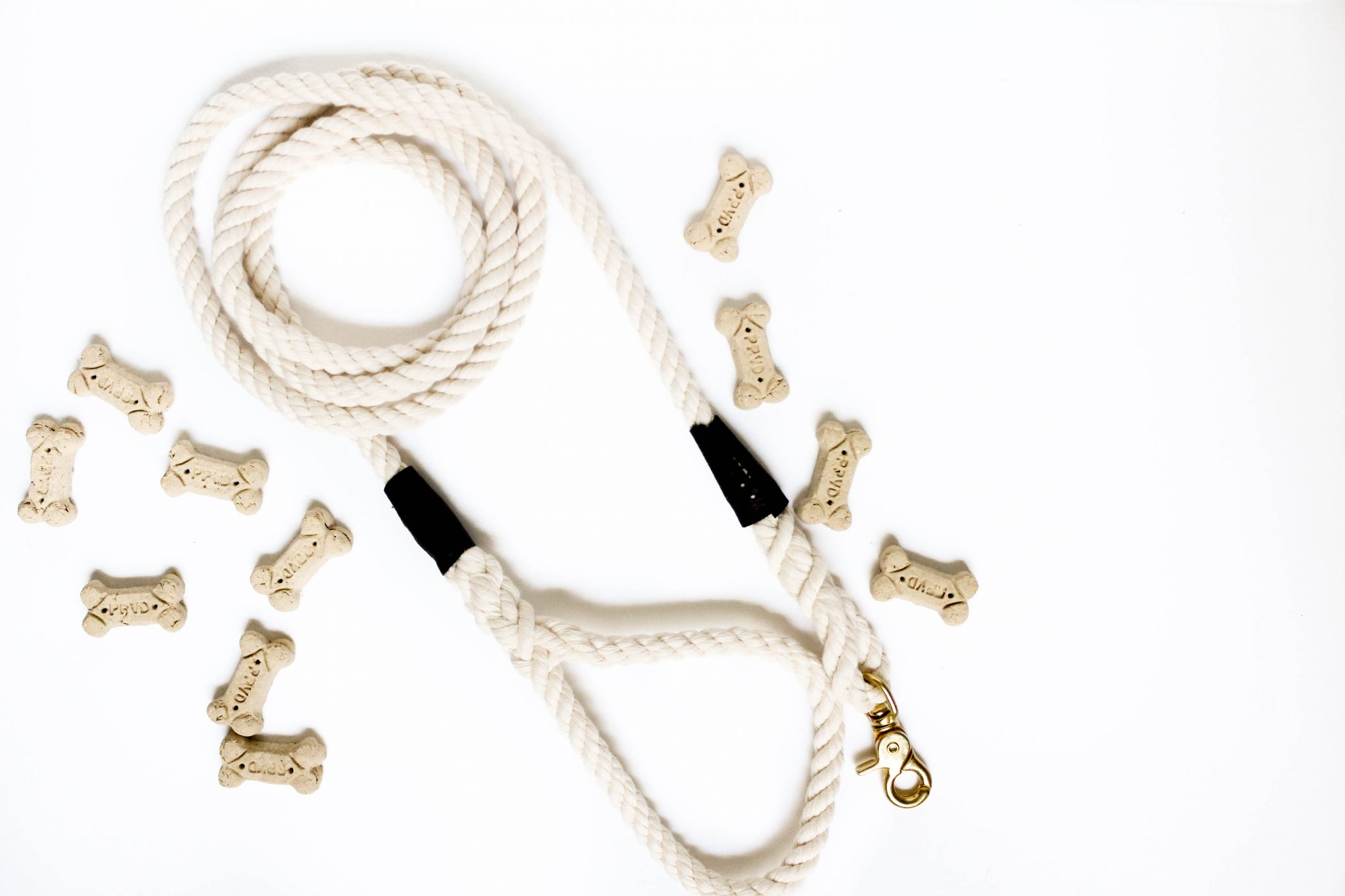 diy how to make a rope dog leash
