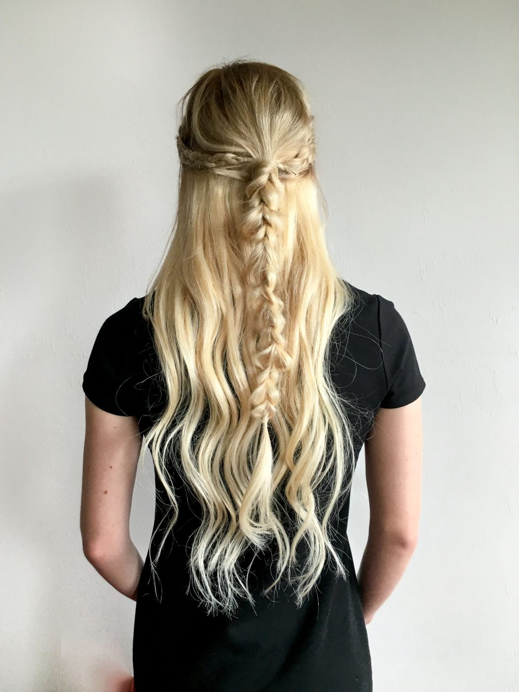 Crown Half Up Pull-Through Braid Video Tutorial