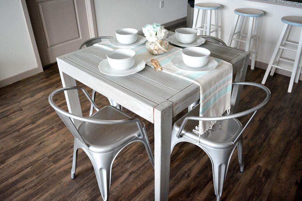 DIY Farmhouse Table For Under $40