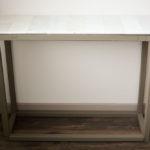 DIY Marble Entryway Table