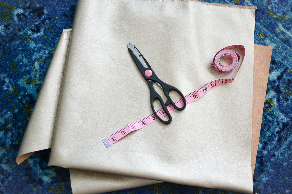 DIY Rope Handle Fold Over Purse