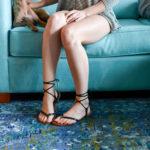 shoe fix: diy lace-up sandals