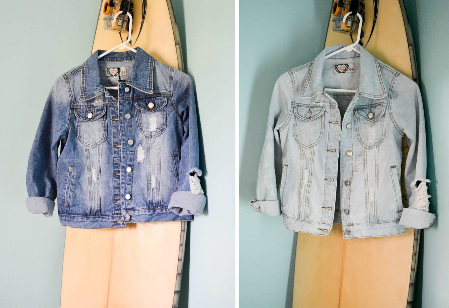 How to bleach a denim jacket