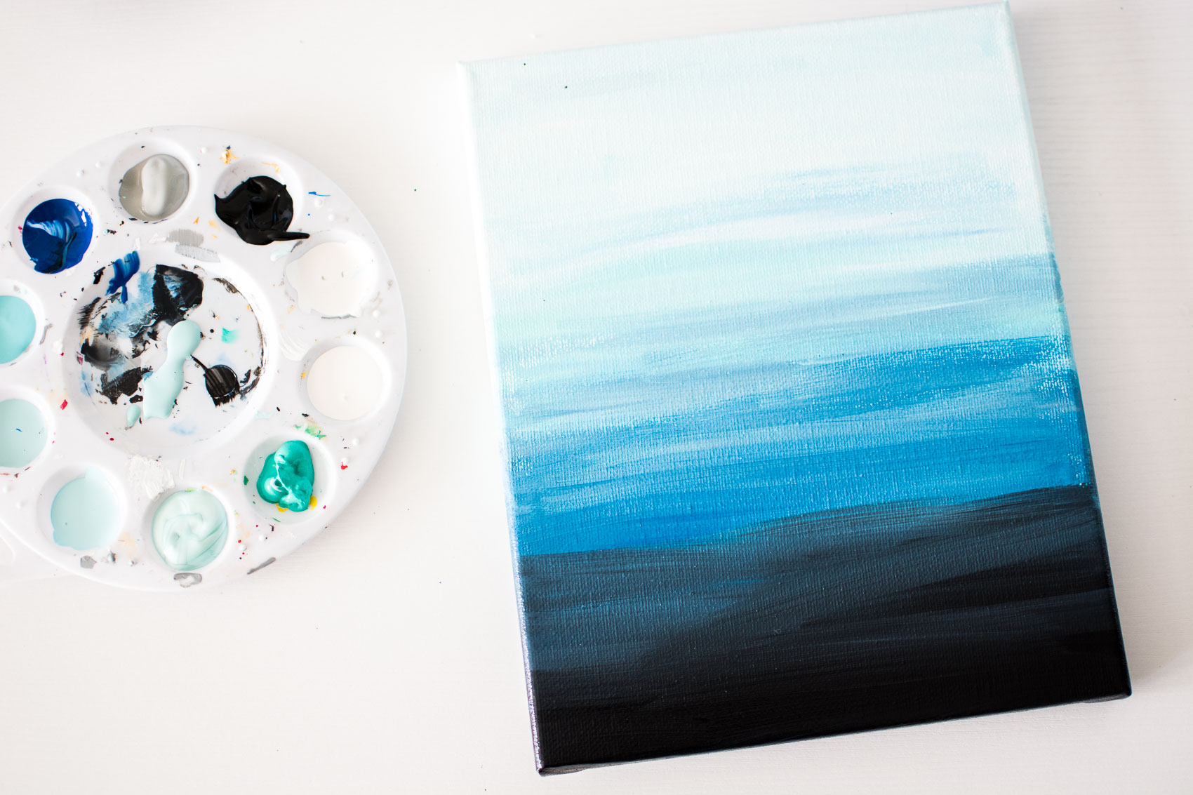 DIY Ocean Wall Art
