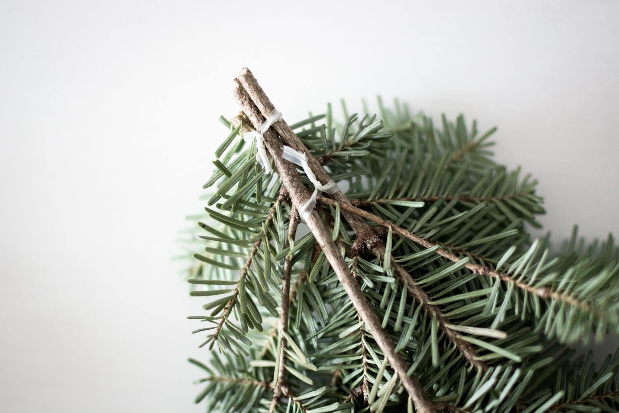 Holiday DIY Christmas Ornament Wreath