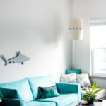 DIY Hanging Lampshade Light