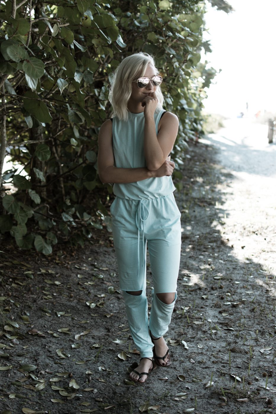 Make Me Chic Romper by Jenny Bess at Sweet Teal