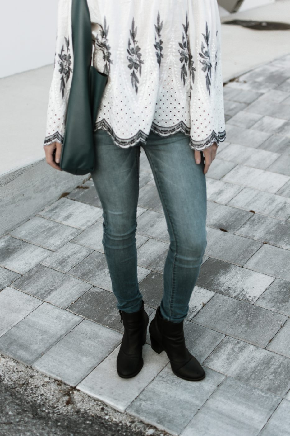 Charlotte Russe jeans and booties