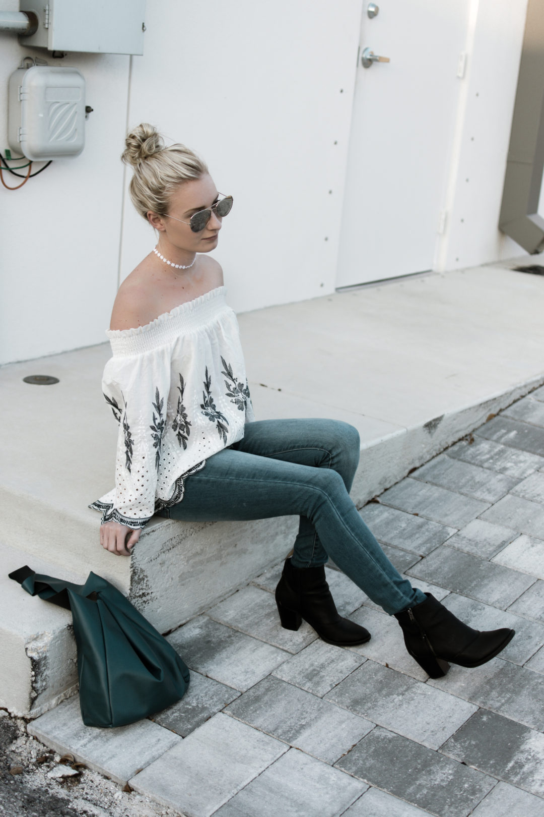 Off The Shoulder Make Me Chic Top-14