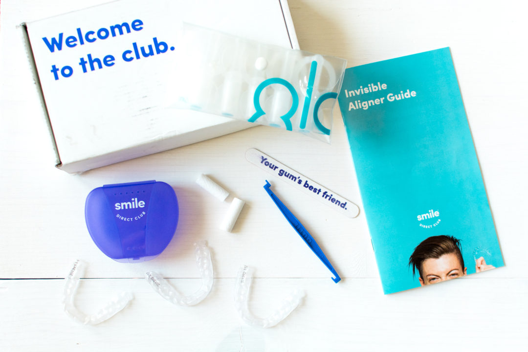 Smile Direct Club Invisible Aligners Kit