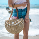 DIY Seashell Placemat Purse