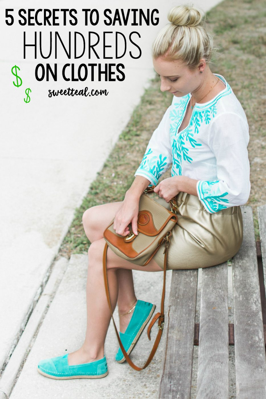 5 Secrets To Saving Hundreds On Clothes - Jenny Bess of Sweet Teal