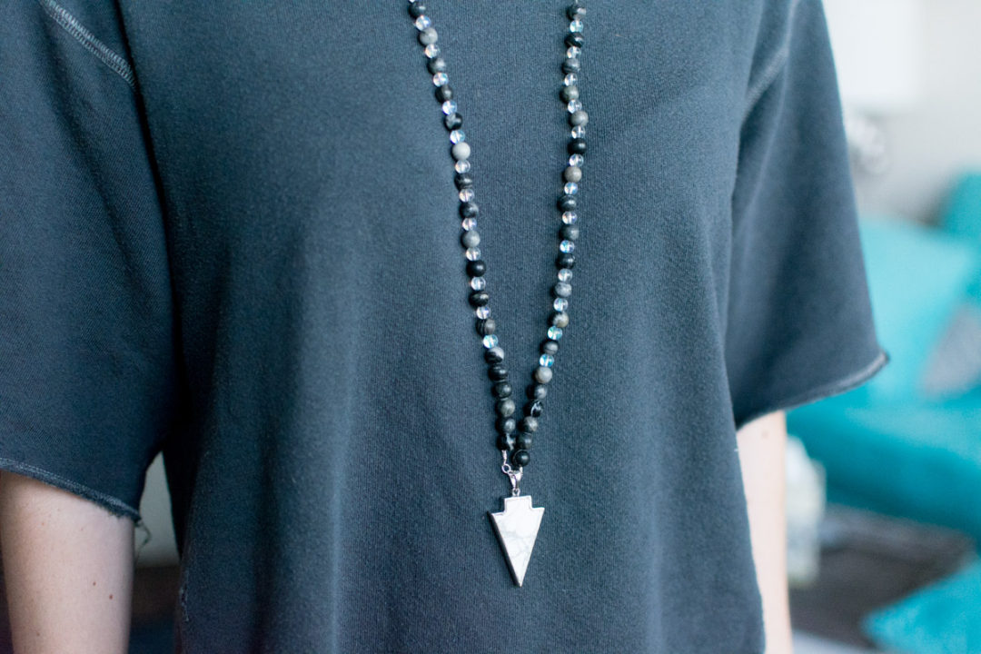 DIY Boho Beaded Necklace by Jenny Bess of Sweet Teal