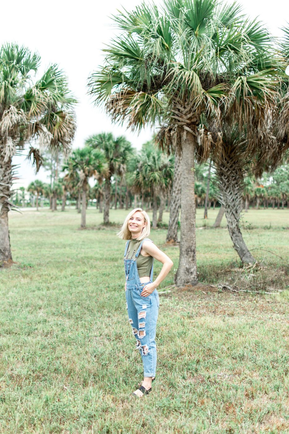 Romwe Denim Jumpsuit - Jenny Bess of Sweet Teal