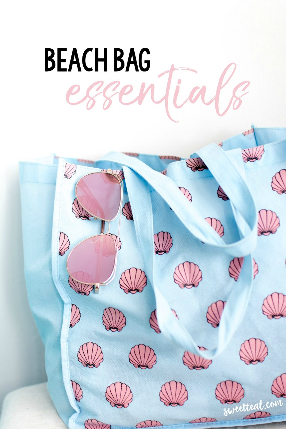Beach Bag Essentials by Jenny of Sweet Teal