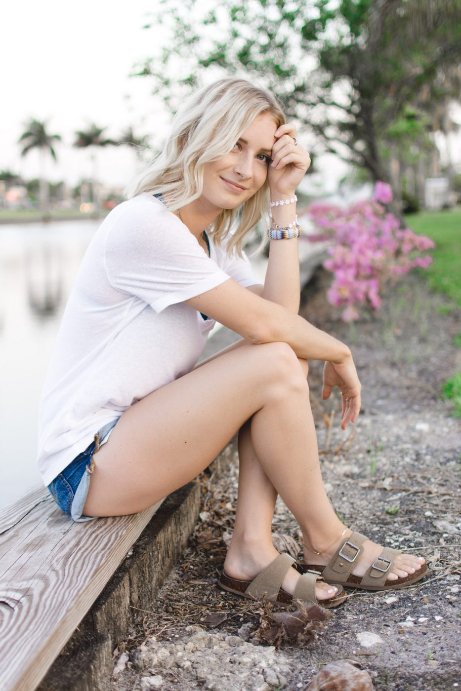 How to wear layers in summer by Jenny of Sweet Teal