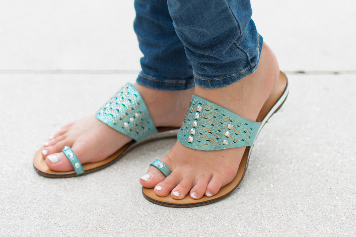Mermaid Shoes - Sweet Teal
