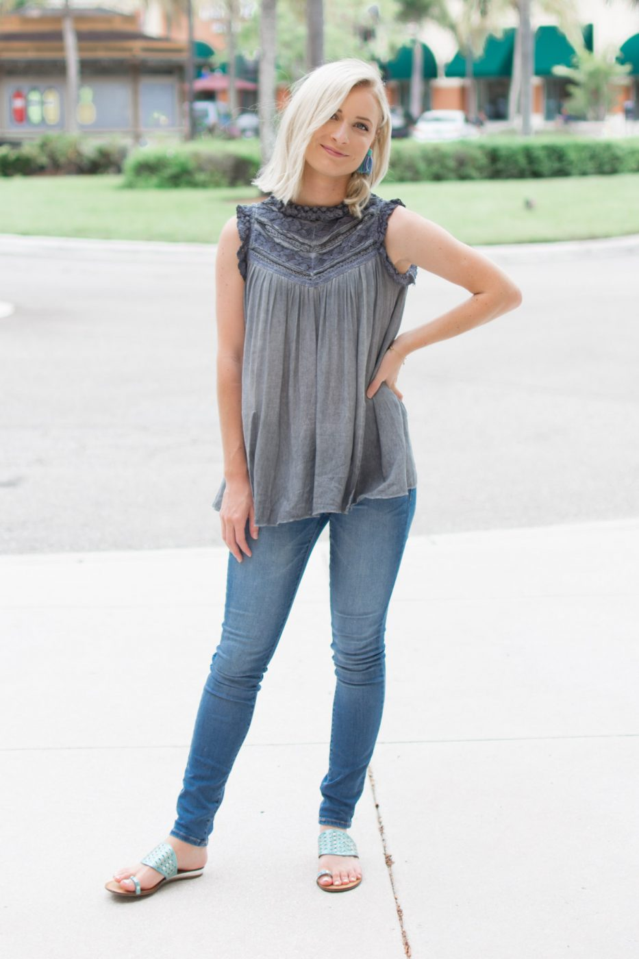 Dinner Date Outfit With Southern Roots - Jenny Bess