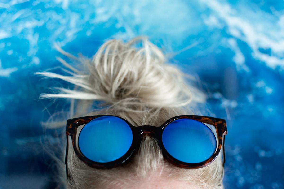 Item 8 Sunglasses - Sweet Teal