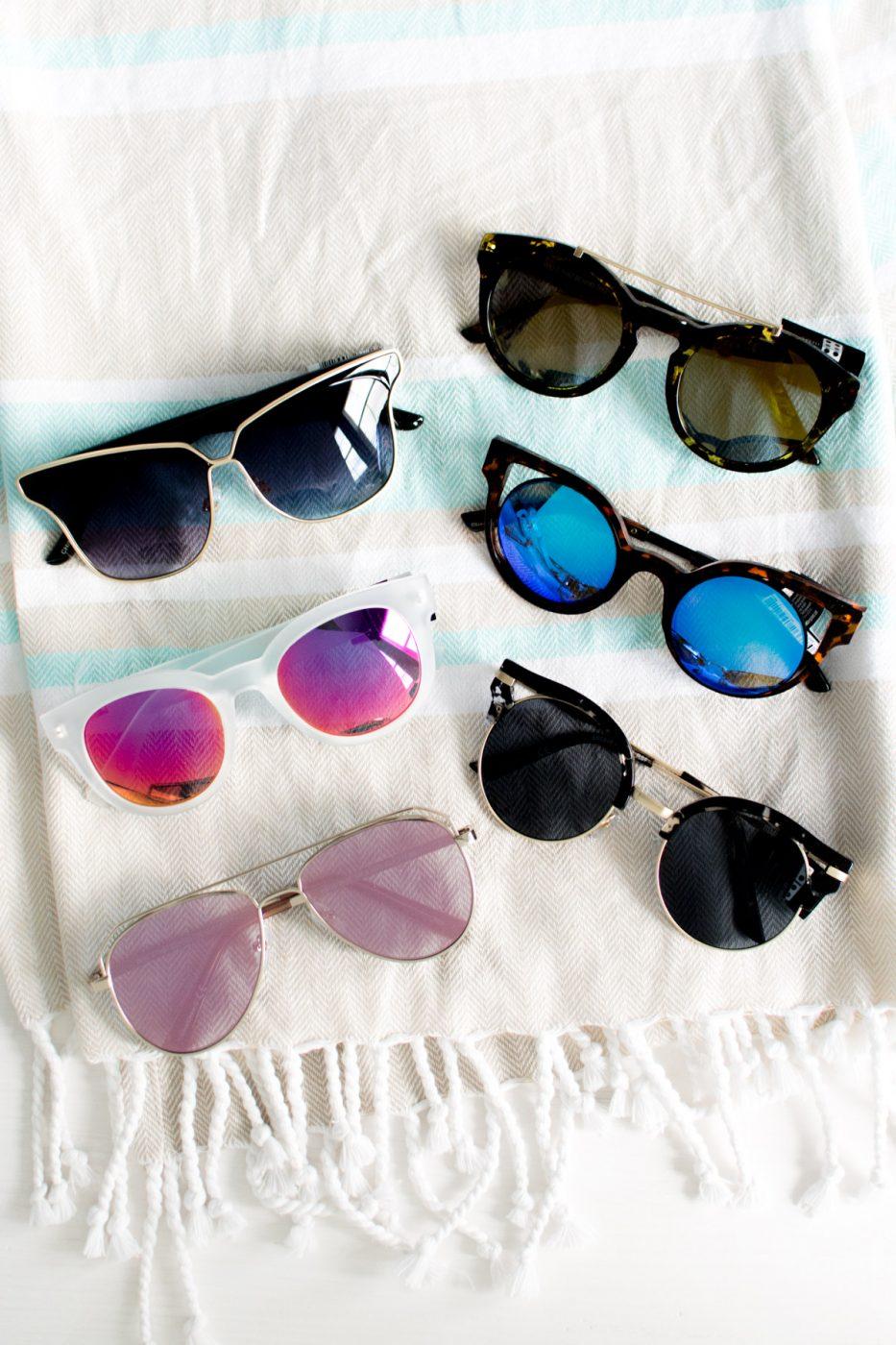 Item 8 Sunglasses - Beach Bag Essentials