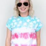 DIY American Flag Tie-Dye Shirt
