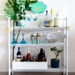 $80 DIY Bar Cart