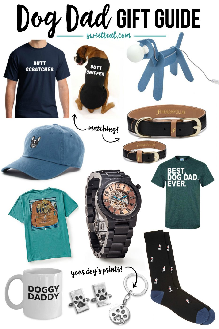 Dog Dad Gift Guide for Father's Day with JORD by Jenny of Sweet Teal