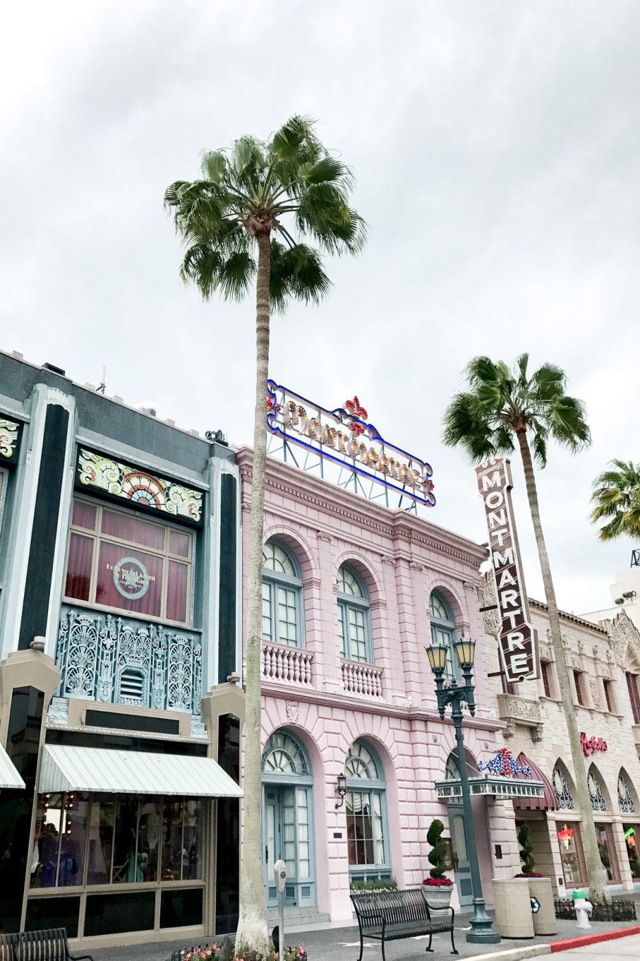 Universal Studios street - Sweet Teal