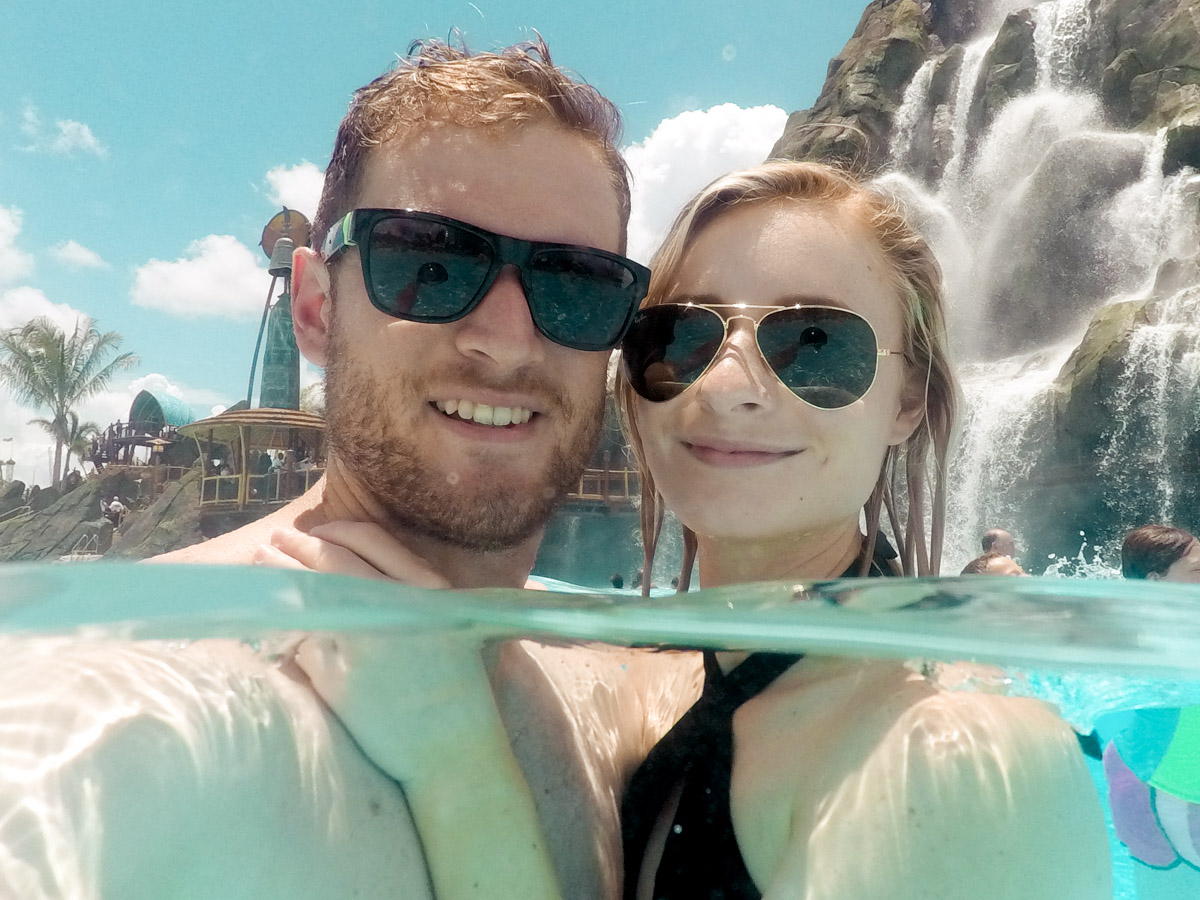 Volcano Bay Universal Studios Orlando Jenny And Will - Sweet Teal