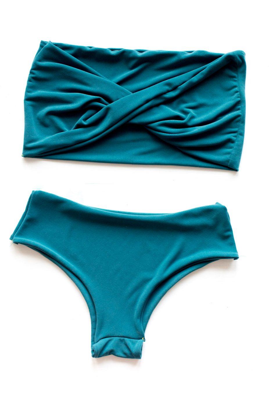 DIY Twist Bikini - Sweet Teal