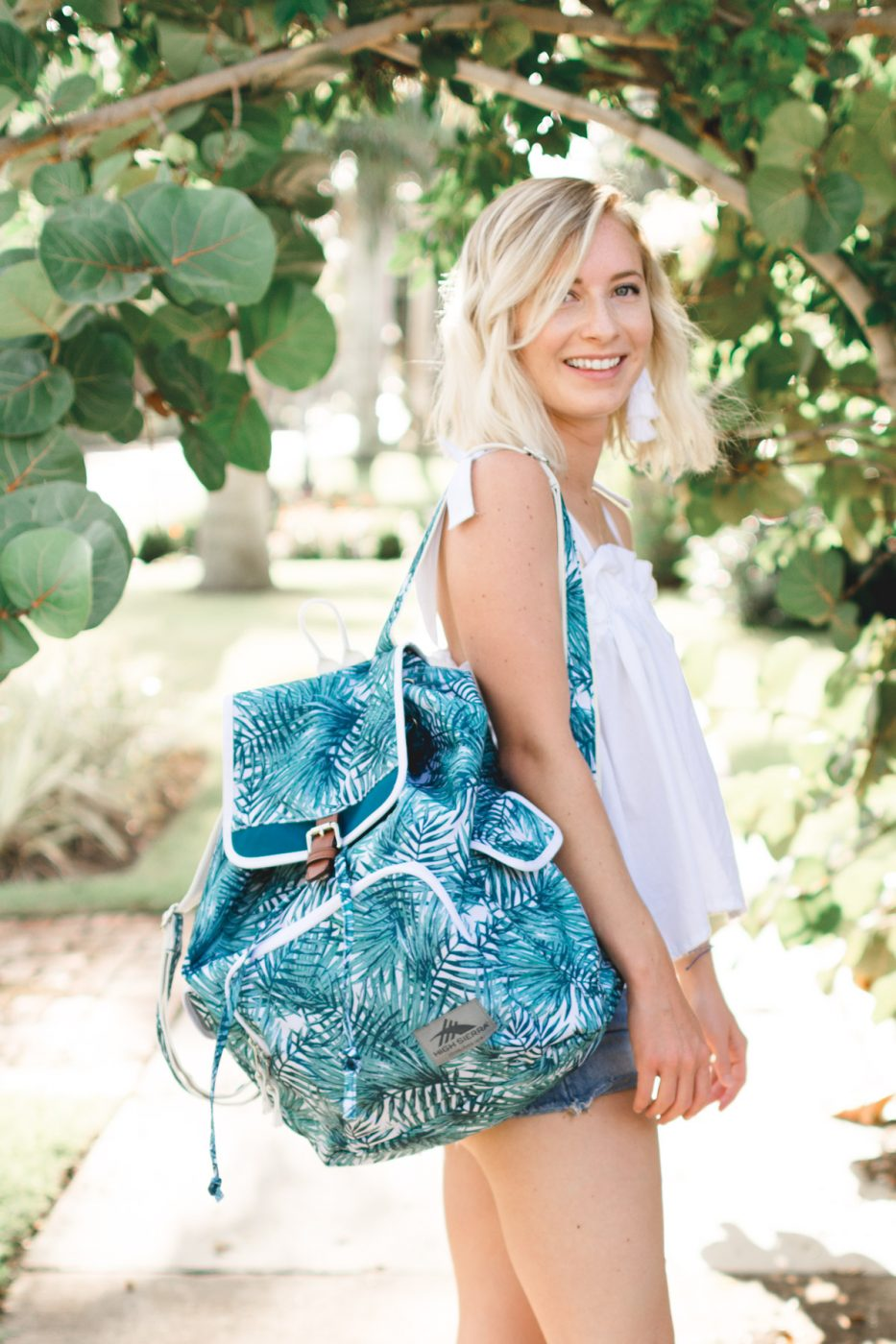 High Sierra Tropical Backpack - Sweet Teal