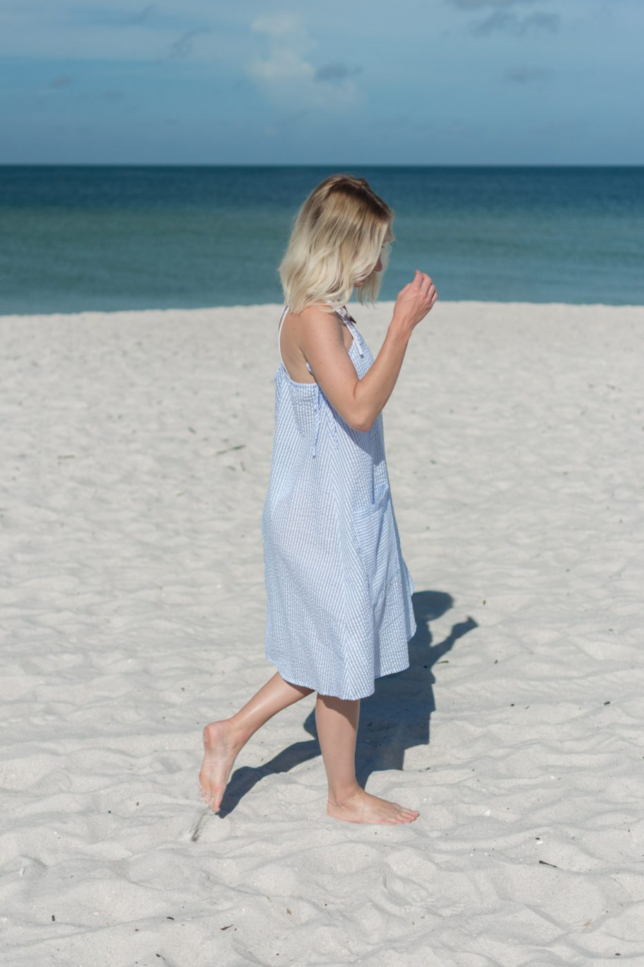 Romwe Sundress - Sweet Teal