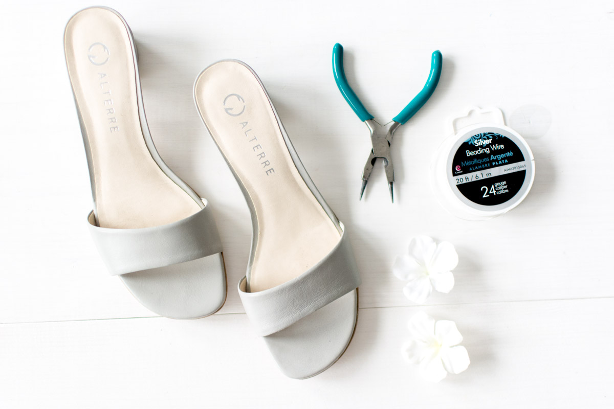 Alterre DIY Shoes Flower Tutorial Supplies - Sweet Teal