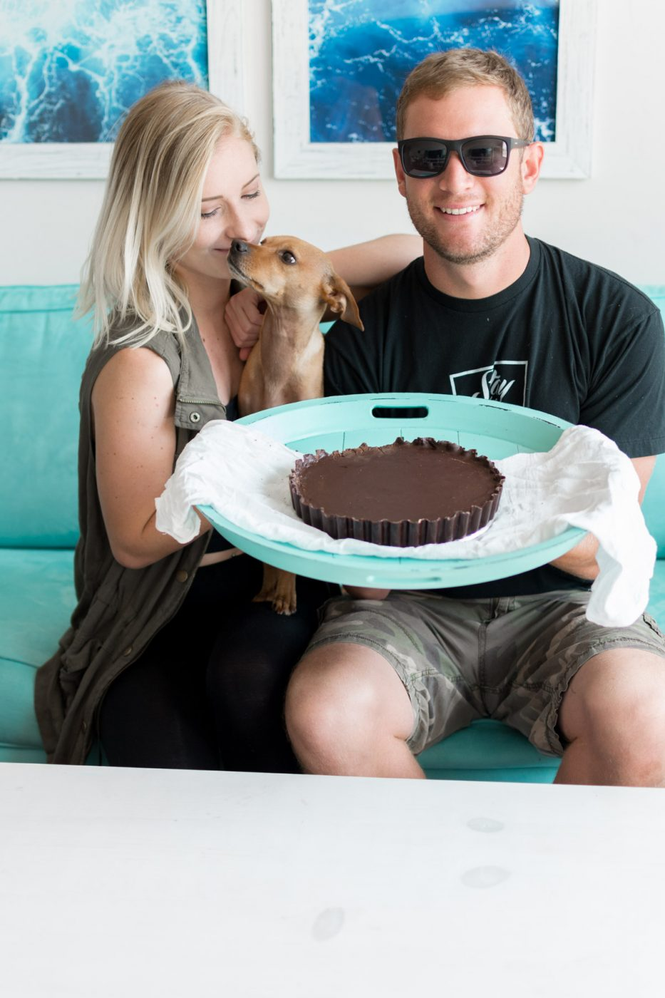 DIY Giant Reeses - Sweet Teal