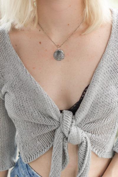 DIY Seashell Necklace