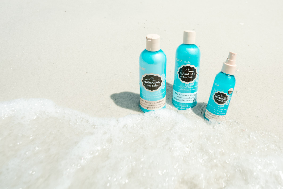 Hask Hawaiian Sea Salt Hair Products - Sweet Teal